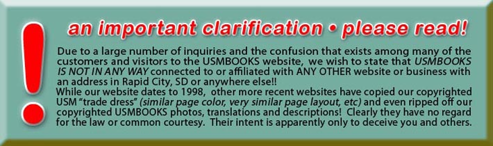 USMBOOKS clarification