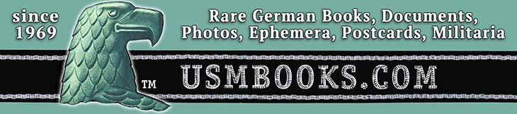 USM Rare Books & Third Reich collectibles