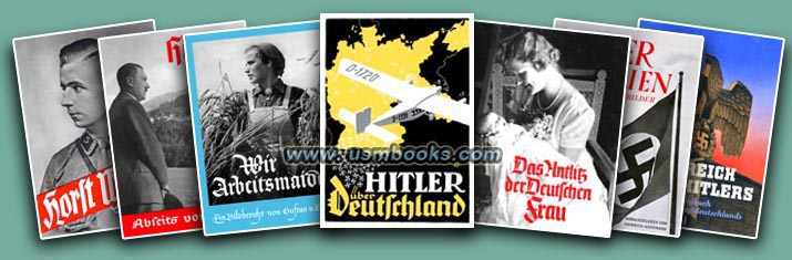 historical Third Reich Heinrich Hoffmann photo books