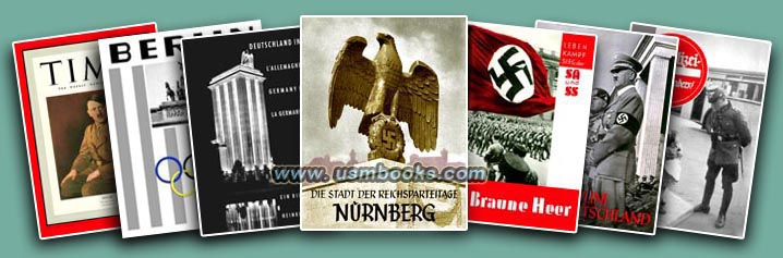 Rare Historical Third Reich collectible Hoffmann photo books